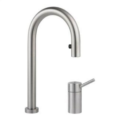 Kwc Zoe Pull Out Kitchen Tap With Light 10 221 102